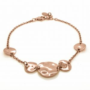 Bracelet-silver-925-pink-gold-plated