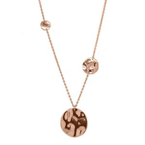 Necklace-silver-925-pink-gold-plated