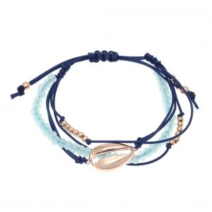 Bracelet-silver-925-pink-gold-plated-with-cord