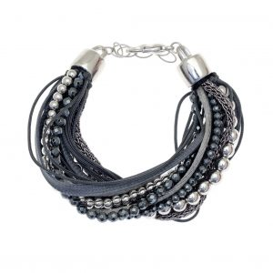Cord-Bracelet-out-of-metal-with-synthetic-stones