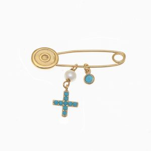 Pin-in-Silver-925-yellow-gold-plated-with-hanging-Charms (1)