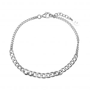Bracelet-silver-925-rhodium–plated