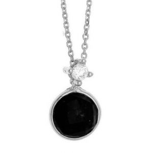Necklace-in-silver-925-rhodium-plated-with-onyx