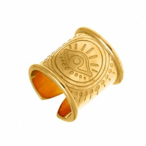 Ring-silver-925–gold-plated