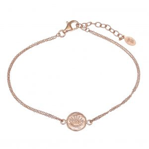 Bracelet-silver-925-rose-gold-plated