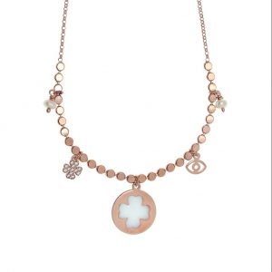 Necklace-silver-925-pink-gold-plated-with-enamel-and-white-zirconia1