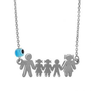 Necklace-silver-925-rhodium-plated-with-evil-eye
