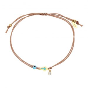 Bracelet-silver-925-gold-plated–with-enamel–evil-eye-and-white-zircon-with-cord (1)