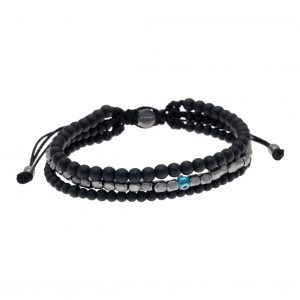 Cord-bracelet-in-silver-925-black-rhodium-plated-with-onyx (1)