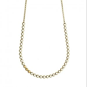 Necklace-silver-925-yellow-gold-plated