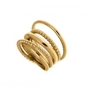 Ring-silver-925-gold-plated