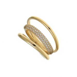 Ring-silver-925-gold-plated-with-white-zirconia