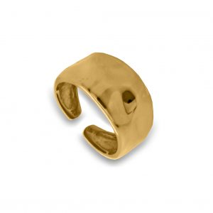 Ring-silver-925-yellow-gold-plated