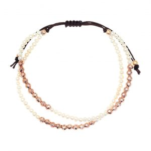 Bracelet-silver-925-pink-gold-plated-with-fresh-water-pearls