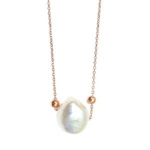 Necklase-in-silver-925-pink-gold-plated-with-pearls