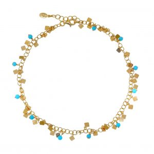 Foot-chain-silver-925-yellow-gold-plated-with-synthetic-stones (1)