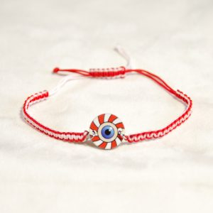 Wooden Red White Blue Mati