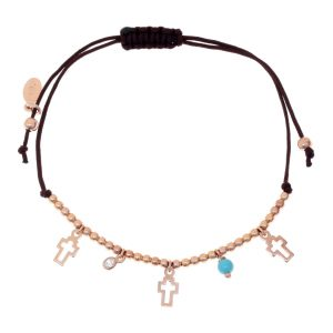 Bracelet-silver-925-pink-gold-plated—with-turqoise-and-white-zirconia-with-cord (1)